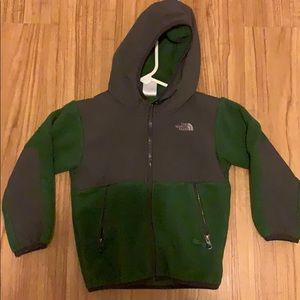 Boys north face Denali fleece jacket 4t coat